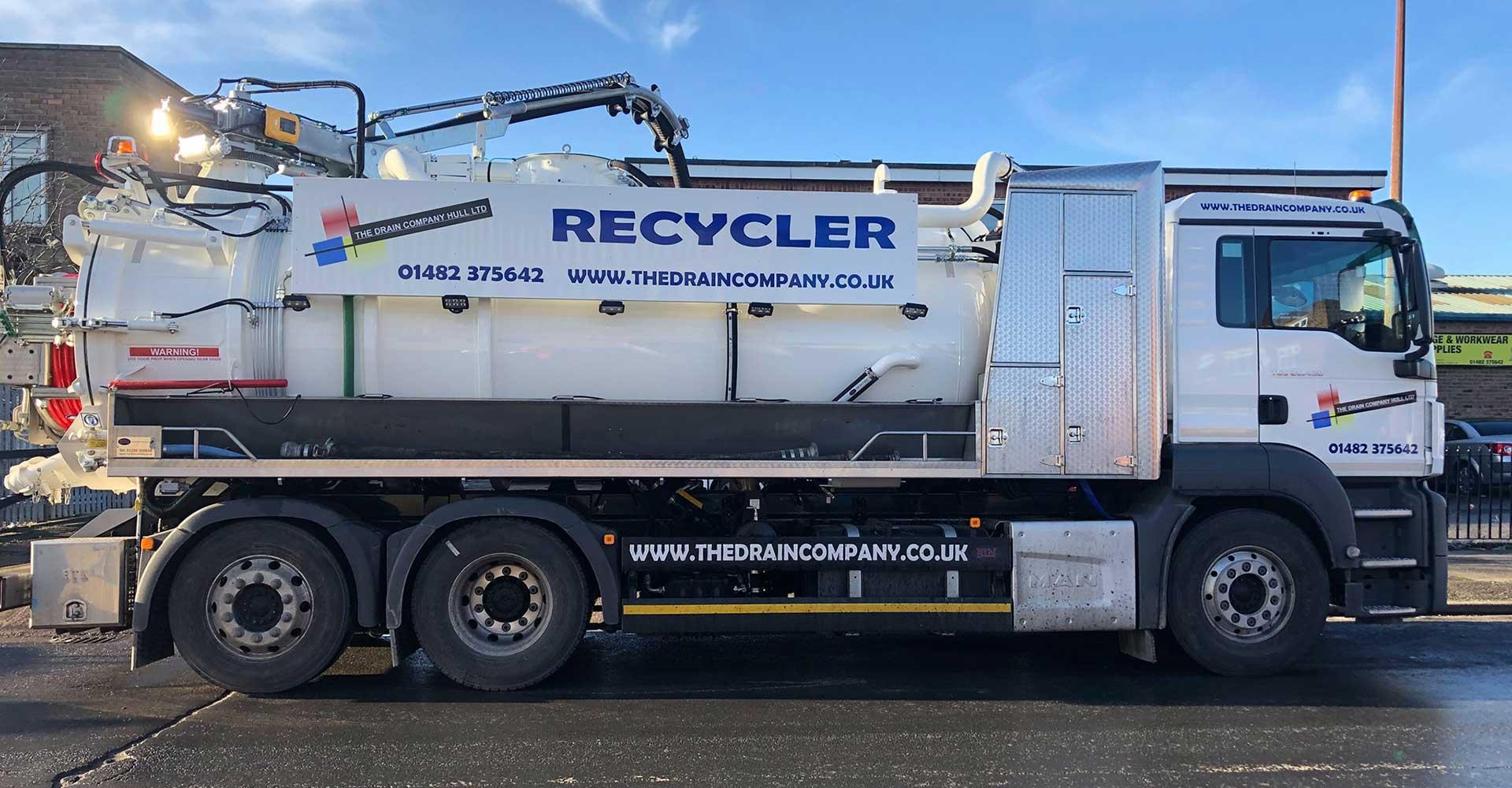 The Drain Company's Recycler